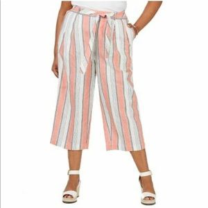 Tommy Hilfiger Monterey Polished Cropped Pant 2X